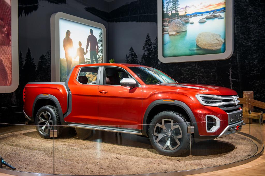 Volkswagen Atlas Tanoak concept, 2018 New York auto show