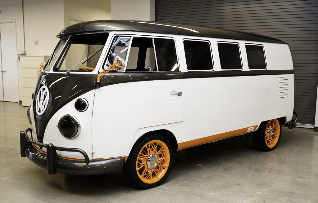 Electric Volkswagen Type 20 Microbus concept ties the past to the future