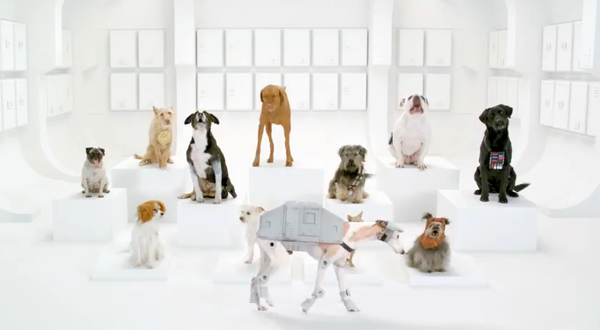 "Volkswagen's ""The Bark Side"" Super Bowl ad"