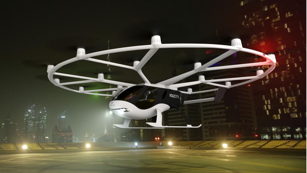 Volocopter unveils fourth-generation VoloCity autonomous air taxi