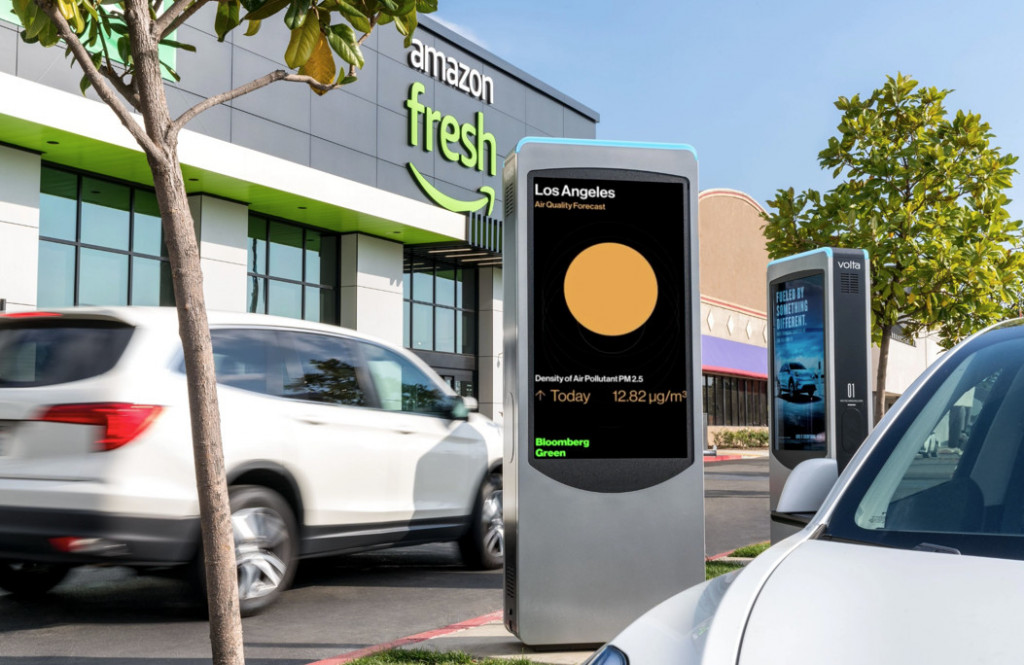 Volta Charging - Air quality information