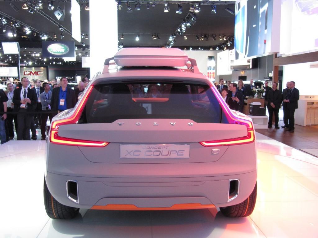 Volvo Concept XC Coupe live photos, 2014 Detroit Auto Show