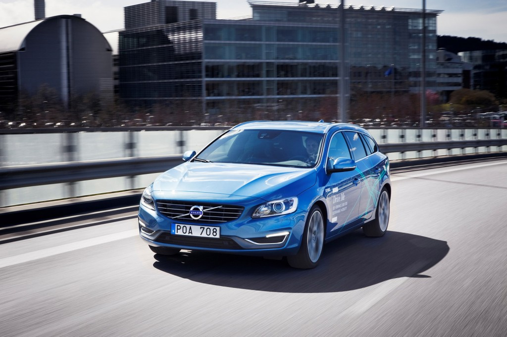 Volvo Drive Me autonomous car pilot project announced in Sweden