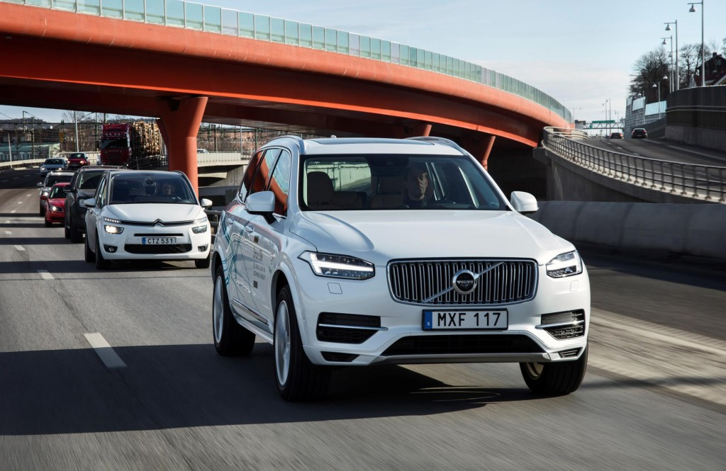 Volvo launches autonomous cars in Sweden & autonomous trucks in mines