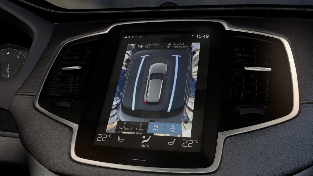 2016 Volvo XC90: Tablet-Like Sensus Is The Future Of Infotainment