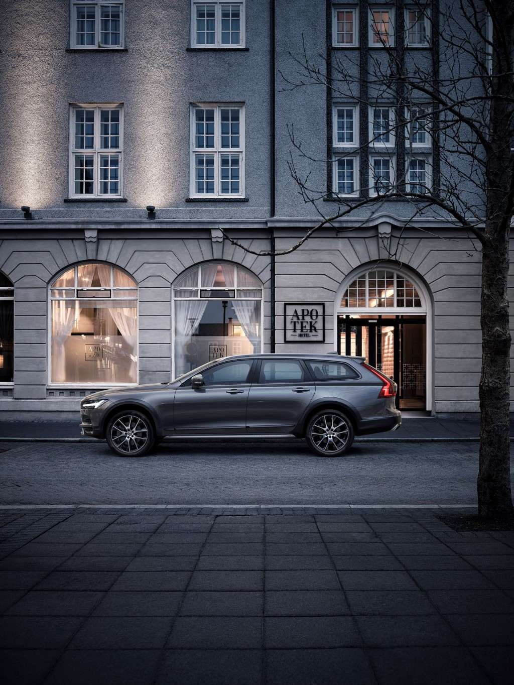 The 2017 Volvo V90 Cross Country climbs luxury wagon mountain