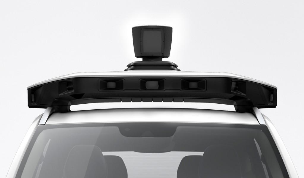 Volvo XC90 self-driving car prototype