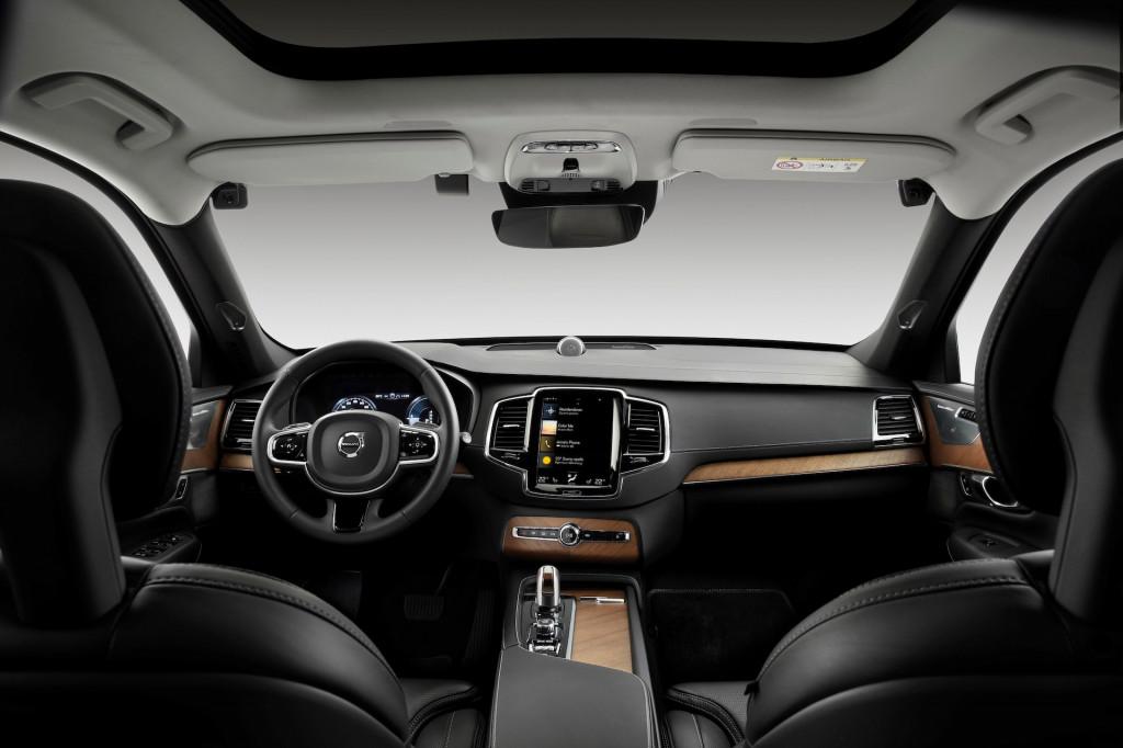 Volvo in-car camera system