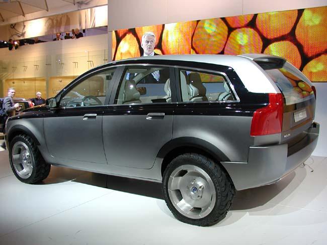 Volvo SUV Concept, 2001 Detroit Auto Show