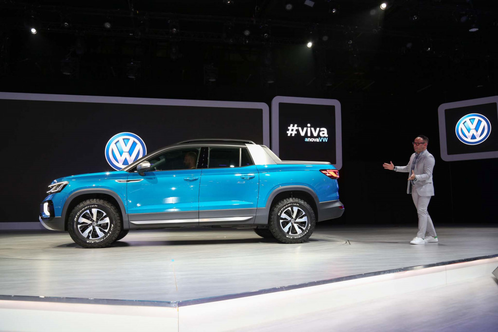 VW sounds serious about adding pickup to its US lineup soon