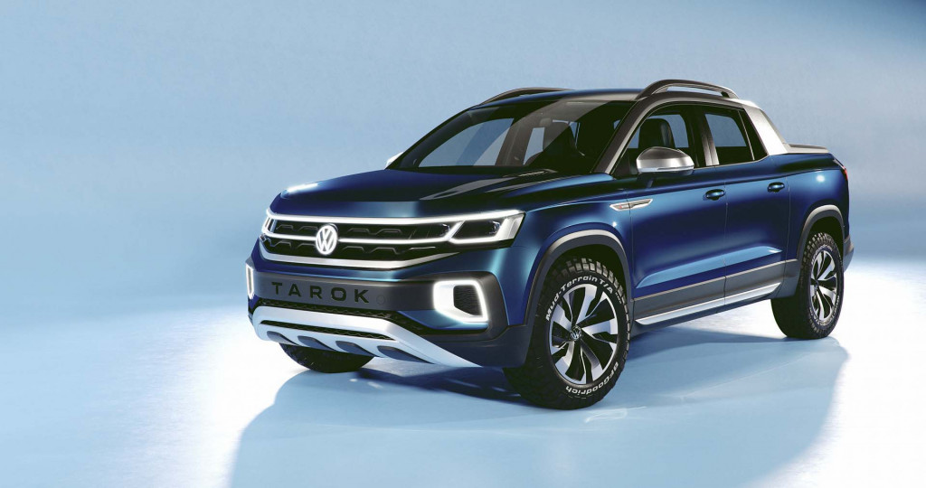 Brazil-bound VW Tarok pickup headed to NY auto show, but does it have a future in US?