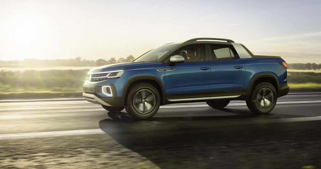 Will the VW Tarok concept pickup be sold in the US?