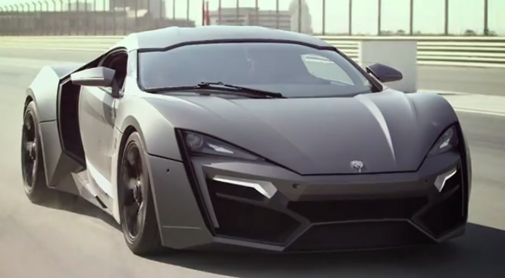W Motors 3 4 Million Lykan Hypersport Takes To The Track