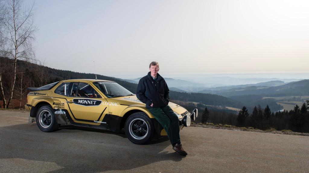Walter Röhrl and the Porsche 924 Carrera GTS Rally