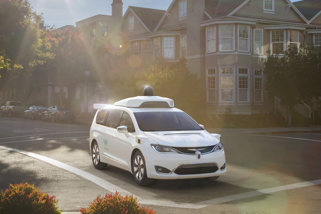 Google's self-driving car tech could become available in FCA vehicles