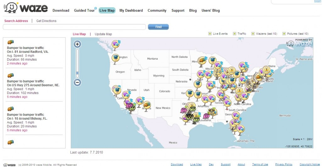 Waze Whizzes To 2,000,000 Users: Is This The Future Of Social?