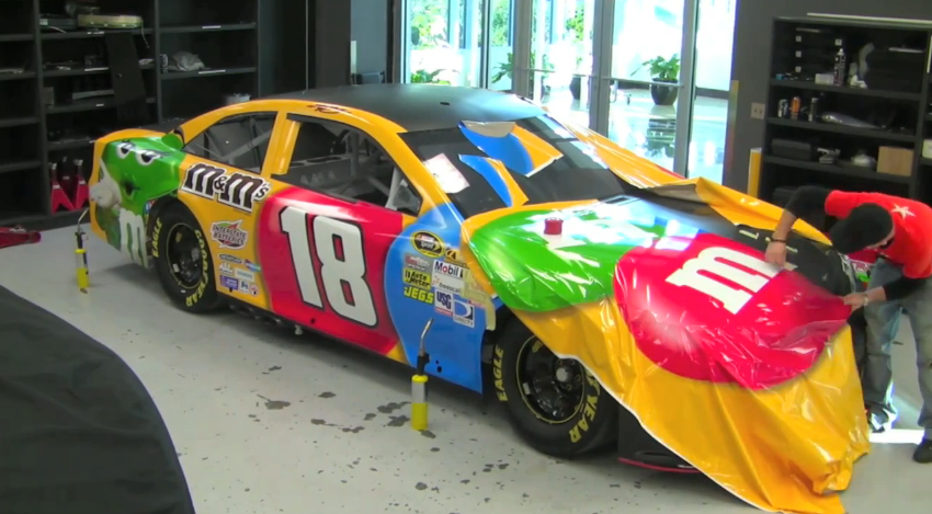 Kyle Busch S 2013 Nascar Camry Gets Its Livery Video