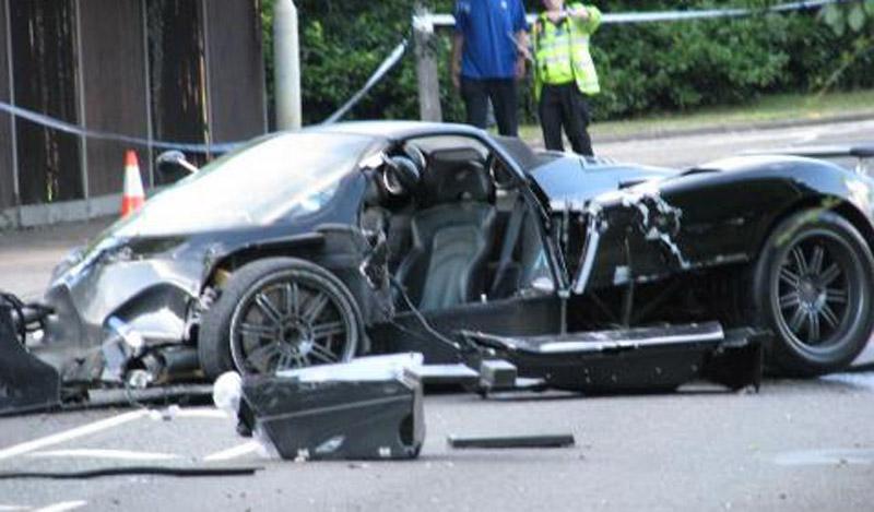 Driver Of Pagani Zonda Killed During Crash