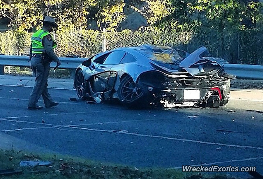 Ford Dealership Dallas >> 27-year-old that crashed McLaren P1 had car for less than ...
