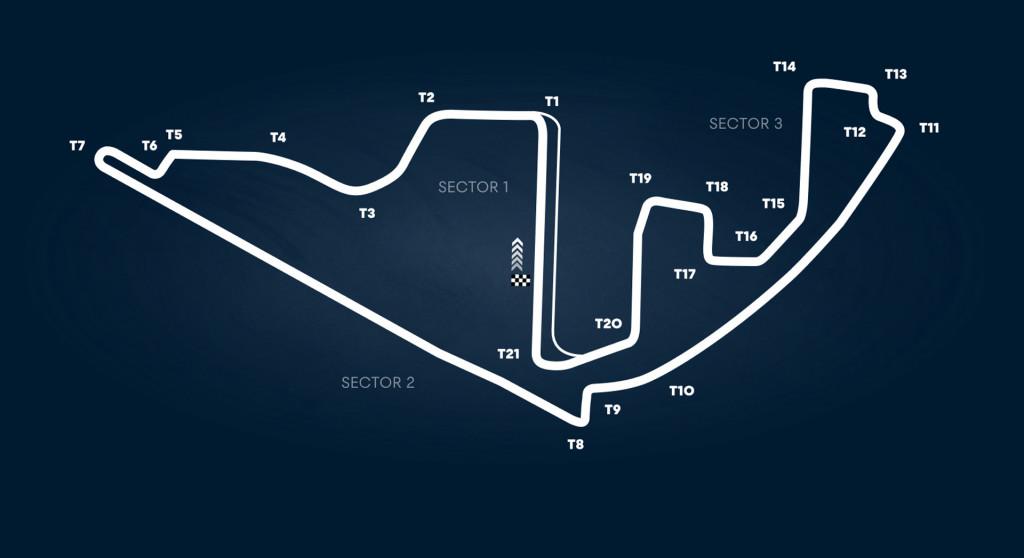 Yas Marina Circuit, home of the Formula One Abu Dhabi Grand Prix