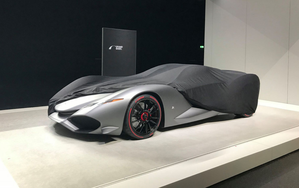 Zagato IsoRivolta Vision Gran Turismo concept, 2017 Grand Basel