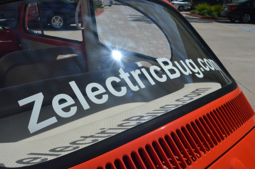 Zelectric Motors' 1963 Volkswagen Beetle electric car
