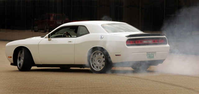 Vanishing Point Dodge Challenger Enters One Lap of America ...