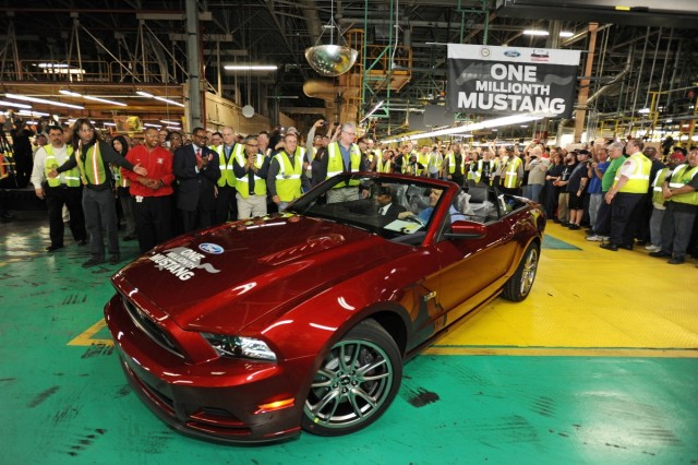 1 millionth Ford Mustang built at Flat Rock Assembly Plant