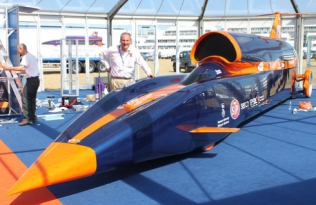 1,000-MPH Bloodhound SSC show car unveiled