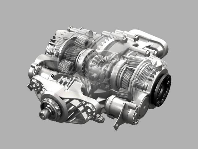 Zf S New Torque Vectoring Rear Axle