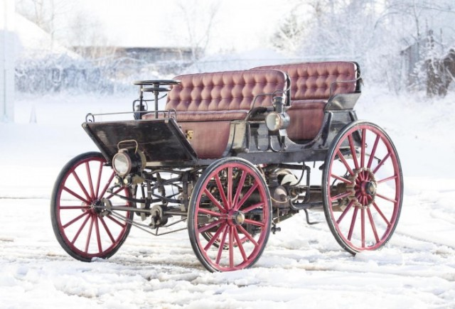 Is This 1896 Horseless Carriage The World S Very First