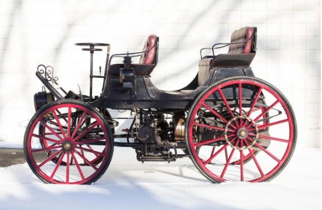 1896 Armstrong Phaeton Hybrid