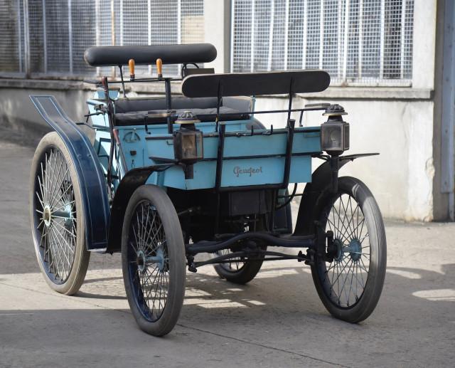 1896 Peugeot Vis-a-vis 3.3/4HP