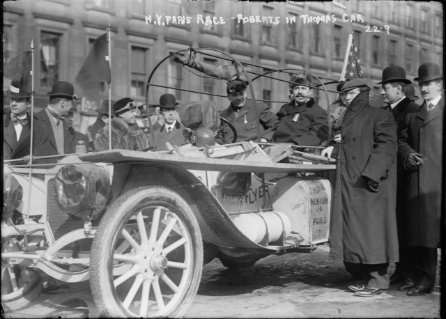 1908 Thomas Flyer, New York to Paris winner