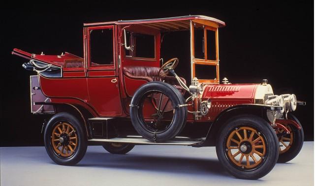 1907 24/40 hp Benz landaulet
