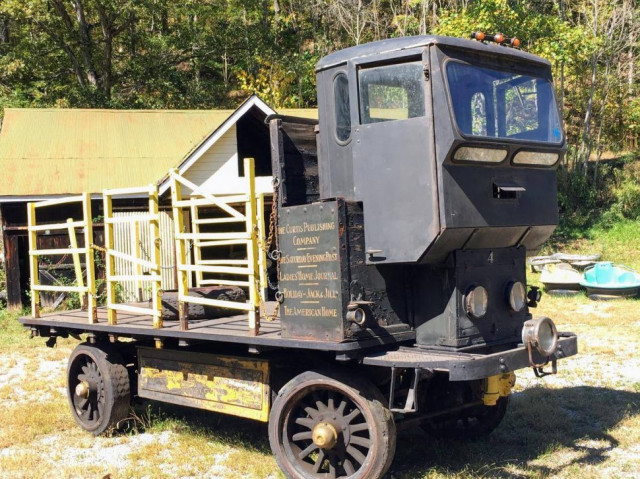 1912 Commercial Truck, Curtis publishing