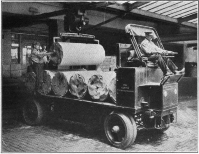 1912 Commercial Truck in service with Curtis publishing