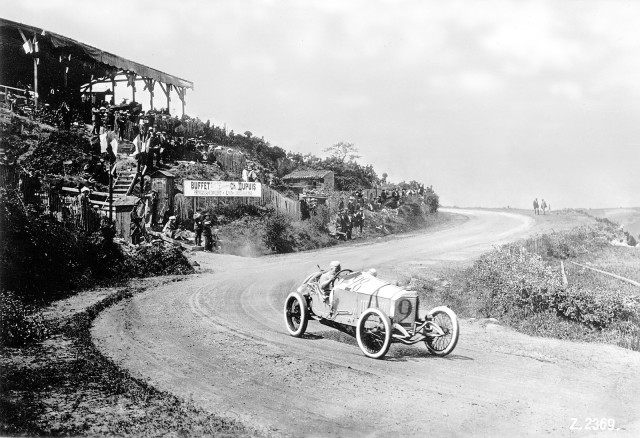 1914 Mercedes Grand Prix race car