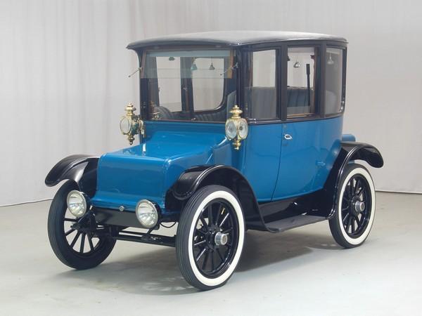 1919 Rauch & Lang electric car. Image: Hyman Ltd. Classic Cars