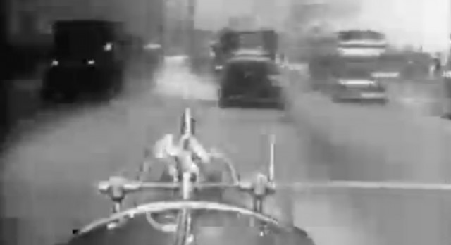 1920s New York Fire Department dashcam