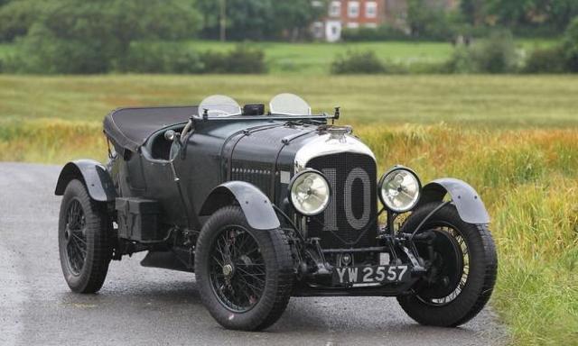 1928 Bentley Bobtail  - image credit Mathieu Huertault, Gooding & Company