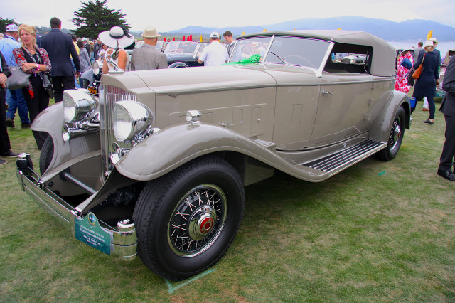 1932 Packard 906 Twin Six Dietrich Convertible Victoria, 2017 Pebble Beach Concours d'Elegance