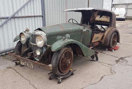 1934 Alvis Speed needs some work