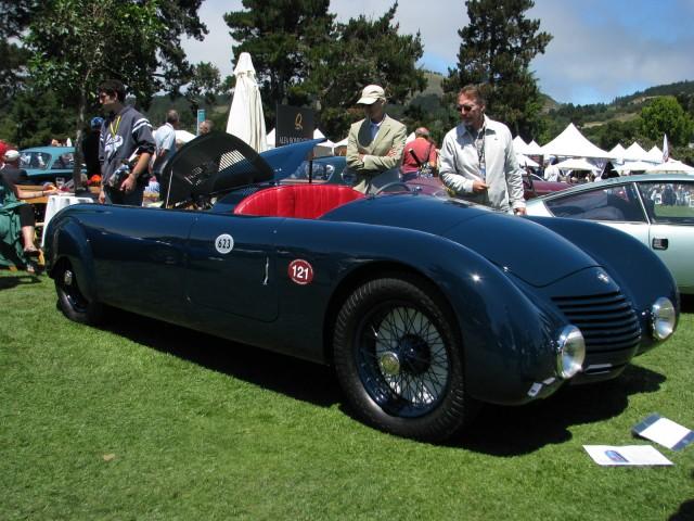 1935 Alfa Romeo 6 C Aerodinamica Spider