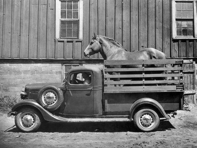 1936 GMC Half-Ton Pickup Truck