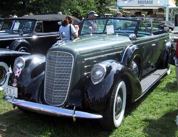 1937 Lincoln LeBaron K