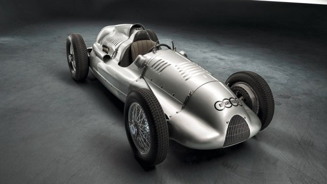 1939 Auto Union Type D twin-supercharger race car