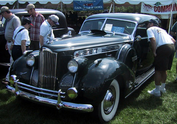 1940 Packard Darrin sedan
