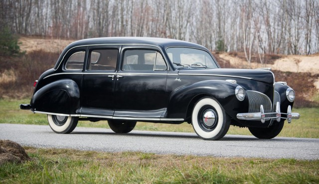 1941 Lincoln Continental Coupe, as seen in 'The Godfather' - image: Bonhams Auctions