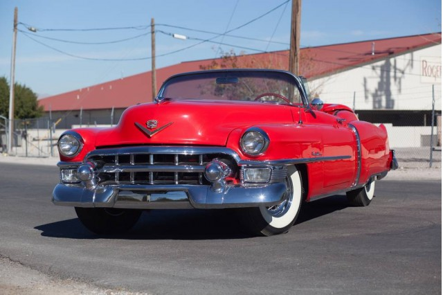 1953 Cadillac Eldorado Convertible from the Rogers' Classic Car Museum collection